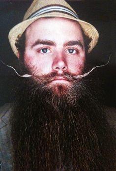 Eccentric beard