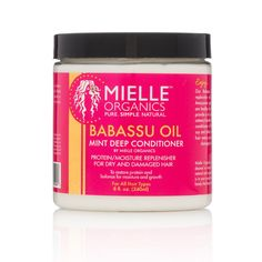 Product Directions Ingredients Our new Babassu oil and Mint Deep conditioning protein/moisture replenisher will restore dry and damaged hair. This native Amazon