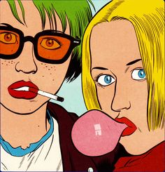 thefundaynews:  Daniel Clowes- Ghost World