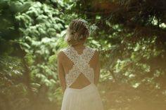 Las #novias boho-vintage de Boüret Mariée - Contenido seleccionado con la ayuda de http://r4s.to/r4s