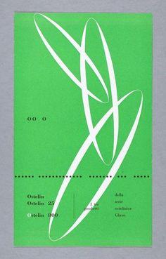 Carlo Vivarelli, Ostelin, Ostelin 25, Ostelin 800, 1946