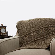 Night Owl Decorative Throw pattern by Kim Miller