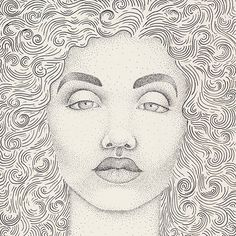Stay fabulous! #illustration #stippling #poc #lines