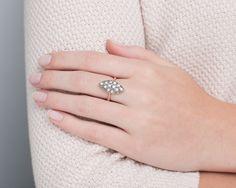 Pierścionek z diamentami. 11829 Sklep Złoto-Orla Warszawa Engagement Rings, Jewelry, Enagement Rings, Wedding Rings, Jewlery, Jewerly, Schmuck, Jewels, Jewelery