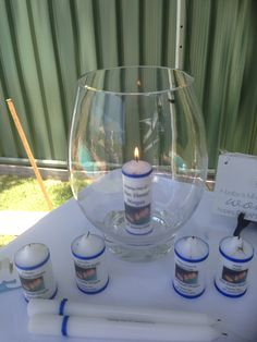 Candle lighting Candle Lighting, Naming Ceremony, Inspirational Gifts, Baby Names, Wine Glass, Backdrops, Invitations, Candles, Table Decorations