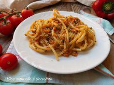 pasta pesto peperoni e pomodorini-ricetta veloce