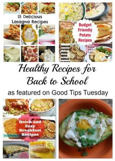 Healthy Recipes for