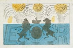 Eric Ravilious: Design for a Wedgwood mug to commemorate the coronation of Edward VIII, 1936 Textile Pattern Design, Textile Patterns, Mug Designs, Designs To Draw, Most Popular Artists, Garden Painting, Victoria And Albert Museum, Wood Engraving, Edward Viii