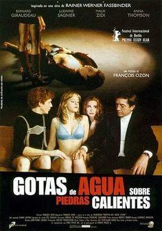 Gotas de agua sobre piedras calientes (1999) Francia. François Ozon. Drama. Romance. Homosexualidade - DVD CINE 1190-I