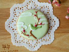 ume blossom cookie