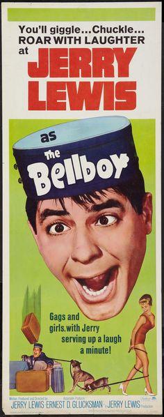 The Bellboy (1960) Stars: Jerry Lewis, Alex Gerry, Bob Clayton, Milton Berle, Bill Richmond ~ Director: Jerry Lewis
