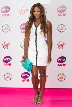 Serena Williams.  Paparazzi time.