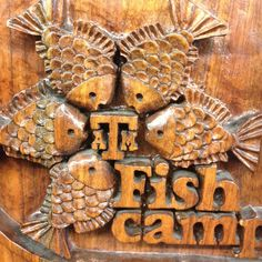 This tradition started in 1954 - Fish Camp, an Aggie's first tradition! Whoop!