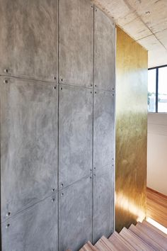 Create an off-shutter effect with CemCote Skimmed. Feature walls are everything right now and what better way to grab attention than with the off-shutter look? Portland Cement, Cement Walls, Concrete Crafts, Feature Walls, Rammed Earth, Wall Finishes, Mountain View, Shutters, House Ideas