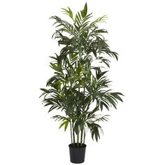 Nearly Natural 5328 6' Bamboo Palm Silk Tree