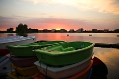 sunset @ Villa Westend