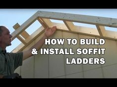 How To Build The Perfect Roof Rake Ladder For A Cabin or Tiny House - Helpful Sharing Shed Building Plans, Shed Plans, Garage Plans, Building Ideas, House Plans, Storage Shed Kits, Shed Base, Modern Shed, Build Your Own Shed