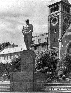 Ulice a námestia - Stalin v Bratislave - Pohľady na Bratislavu Bratislava, Socialism, Big Ben, Nostalgia, Europe, Retro, Rustic