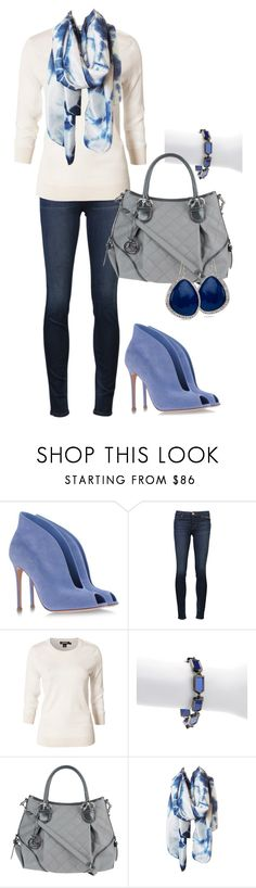 """""""Untitled #162"""" by chloe-604 ❤ liked on Polyvore featuring Gianvito Rossi, J Brand, DKNY, Meredith Wendell, Nannini, L.O.V Project and Miriam Salat"""
