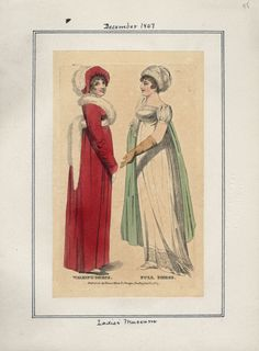 Ladies' Museum, December 1807.