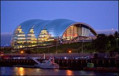 The Sage, Gateshead, England