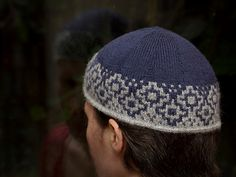 Knitting pattern: Shadow Runner Beanie by Sharon Fuller for sale on Ravelry
