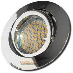 3W Power LED 3er SMD Downlight TIMO 230V Deckenstrahler 25er Sets Einbauspot