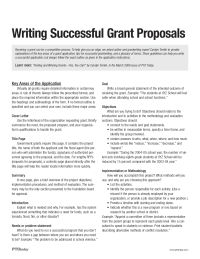 An explanation of the key areas of a grant application, tips for successful grantwriting, and a glossary of terms. Proposal Writing Sample, Project Proposal Writing, Grant Proposal Writing, Writing A Business Proposal, Business Proposal Sample, Grant Writing, Writing Lessons, Email Writing, Formal Proposals