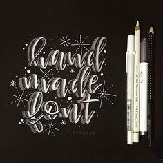 Wenn du was lettern willst und dir sonst nix einfällt  voll im Wahn  @handmadefont . #iletterju #handlettering #lettering #modernlettering #brushlettering #handmade #handwritten #handgeschrieben #läddergäng #ilettertoo #letterattack #handmadefont