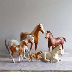 Breyer Horses. I have some.