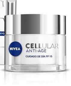 Crema hidratante Cellular Anti-Age SPF 15 de Nivea (14,99 euros). Con protección solar protege la piel del foto-envejecimiento, evitando el daño celular y previniendo las manchas solares.