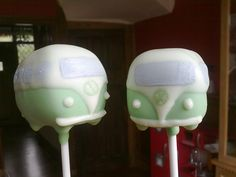 VW Bus Pops!!! Groovy!! love,love,love these!!