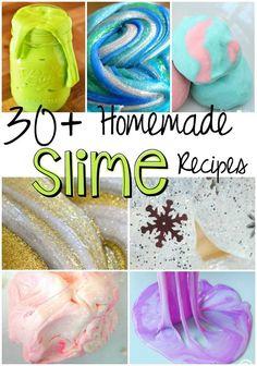 30+ Homemade Slime Recipes