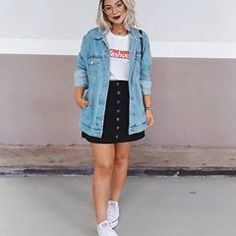 45 Best Fashion Outfit Ideas For Women Summer Outfits Winter Outfits Autumn O. Winter Outfits, Summer Outfits Women, Spring Outfits, Girly Outfits, Trendy Outfits, Cute Outfits, Fashion Outfits, Fashion Ideas, Denim Skirt Outfits