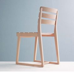Wooden chair by Expressoes de Madeira