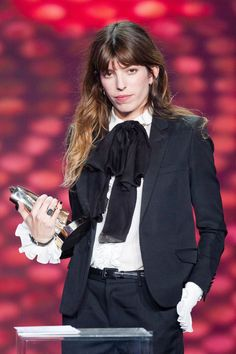 French Style Icons.  Fashion Lessons in Honor of Bastille Day  Lou Doillon