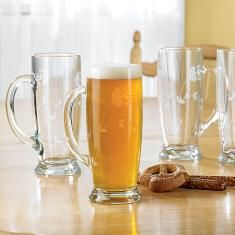 #PrincessHeritage® #BeerMugs...gorgeous, tall, slender glass looks like a pilsner with an easy grip handle!(set of 4) LOVE THEM! Regular Price: $59.95 You can place a personal order directly with me. WE SHIP ANYWHERE IN U.S. Click on picture for more details! lindabradley@myprincesshouse.com