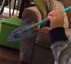 Marissa's Mommy Moments: Straw Rockets