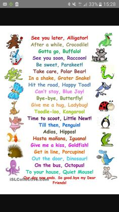 New Funny Work Quotes Teacher Kids Ideas Preschool Songs, Kids Songs, Kindergarten Poems, The Words, Teaching English, Learn English, See You Later Alligator, Tongue Twisters, Kids And Parenting