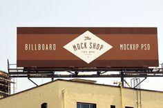 Billboard Mockup 02 by The Mock Shop on @creativemarket