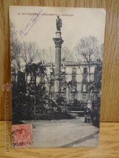 20 BARCELONA. MONUMENTO A MARQUET. ED / MISSÉ HNOS. CIRCULADA