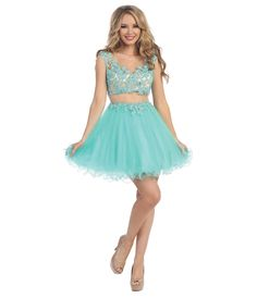 #Wishesbridal Sheer Back Short Blue Tulle A Line Prom Homecoming Dress Cwb0178