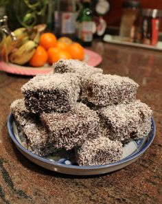 Visit my website and make some LAMINGTONS at home!