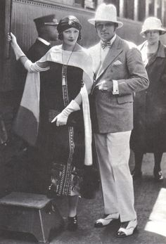 Natacha Rambova leaves Los Angeles for New York to arrange for the making of her production 'What Price Beauty?', 1925.