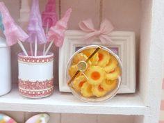 Caja de franceses florales Galletas de mantequilla - Citrus Jam♡ ♡
