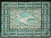 Art Deco Bird Motif