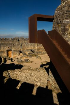 Architecture Photography History new history: the visitors' centre at pombal castle, portugal,