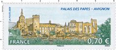 France Stamp 2009 - Palais des Papes d'Avignon
