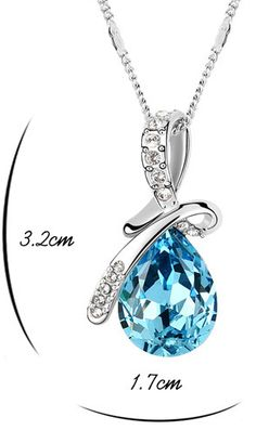FENCY NEOGLORY CRYSTAL NECKLES