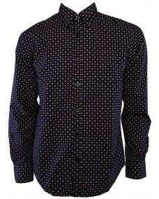 Camasa Polka Dot Top, Sweaters, Tops, Women, Fashion, Moda, Fashion Styles, Sweater, Fashion Illustrations